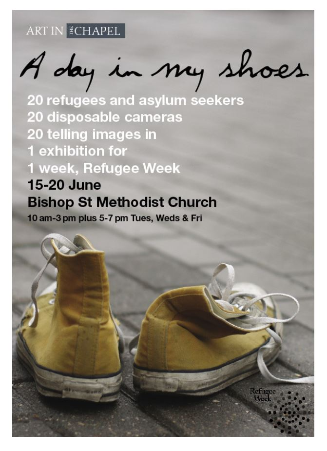 A day in my shoes poster